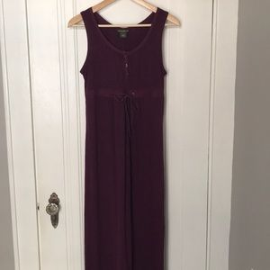 Eddie Bauer cotton maxi dress